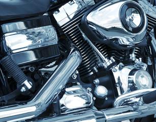 Motobike closeup
