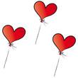 Luftballons - Ballons aus Herzen