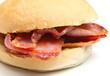 Bacon Bap Sandwich