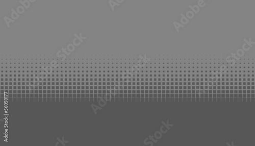 canvas print picture Graue Fläche und Kästchen mit weichem Übergang zu dunkelgrau