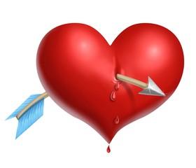 cuore trafitto