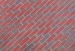 Pflasterklinker, rot, nuanciert, Boden, Klinkerfläche
