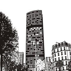 Элитный небоскреб