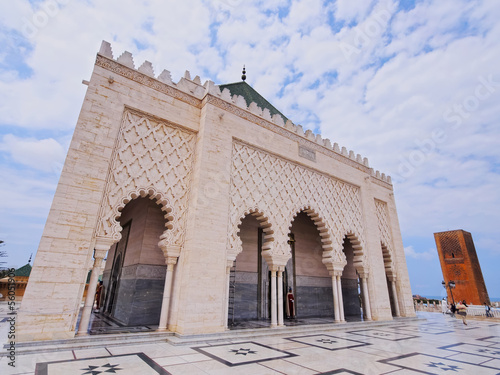 The Mausoleum of Mohammed V in Rabat