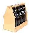Bierkiste aus Holz