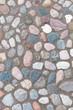 Kieselpflaster, Naturstein, Boden, außen, Gartenbau