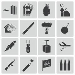 icons terrorism