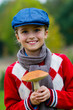 Mushrooms picking, season for mushrooms