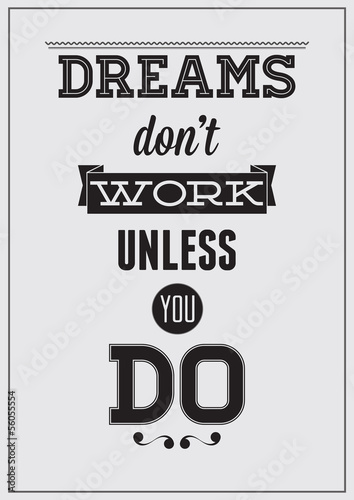 Motivational poster Poster