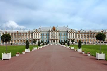 Pushkin Palace near Saint Petersburg, Russia