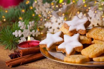 Duftende Plätzchen zu Weihnachten