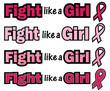 Breast Cancer Awareness-Fight like a Girl