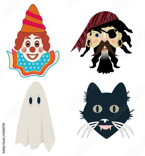 Kid's Halloween masks