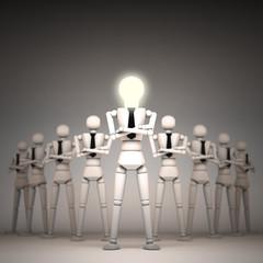 3d business people team