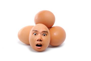 Human face Egg