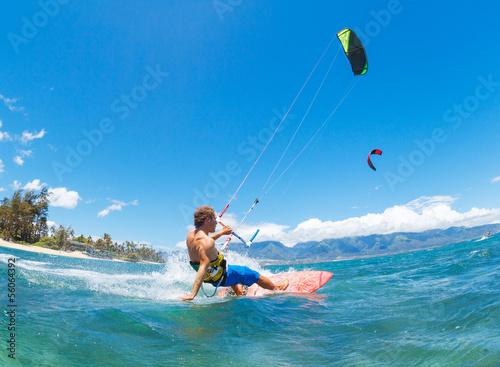 Kiteboarding - 56064392