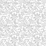 Florafototapete in Grautönen