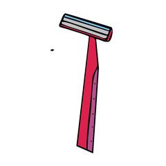 razor vector illustration