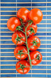 branche of red tomatoes