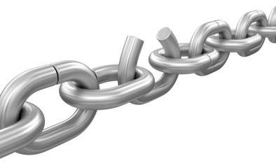 Chain Breaking (clipping path included)