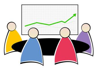 réunion d'équipe - statistiques