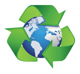 recycle arrows earth