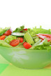 salad with vegetable