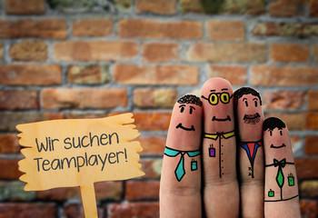 Teamplayer gesucht, Job, Angebot