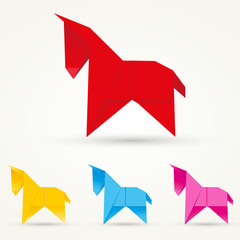 Origami Esel