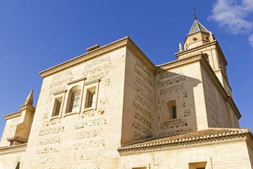 Santa Maria church, Alhambra, Granada, Spain