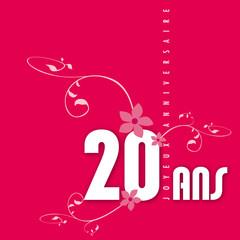 Anniversaire 20 ans