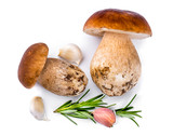 Porcini Mushroom with Rosemary and Garlic