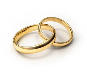 Verbundene Eheringe