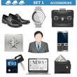 Vector Male Accessories Set 1