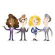 Business people, handshake, team, meeting, succcess