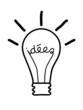 "Icône ""IDEES"" (idées solutions innovation imagination  génie)"