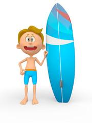 3D surfer