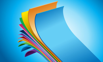 12 layers film technology - vector