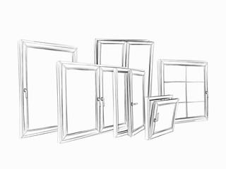 Skizze Fenster