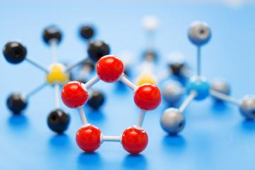 model of chemical molecule