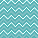 Zigzag pattern in light blue