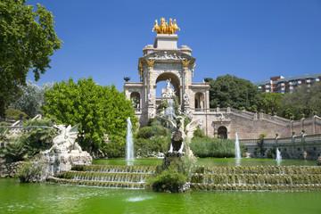 Ciudadela park in Barcelona, Spain