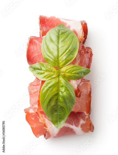 Appetizing bacon