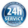 24h-Service – Service rund um die Uhr
