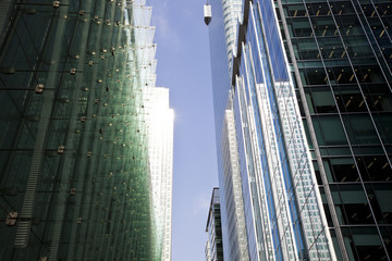 Skyscraper from below