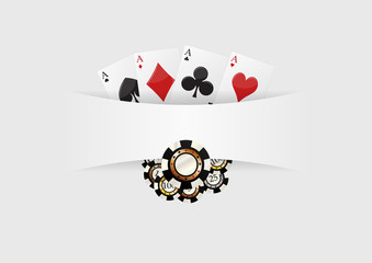 poker blank background