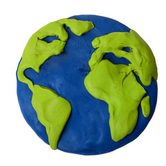 Plasticine earth