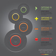 Modern Circles Infographics Design Template