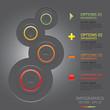 Modern Circles Infographics Design Template