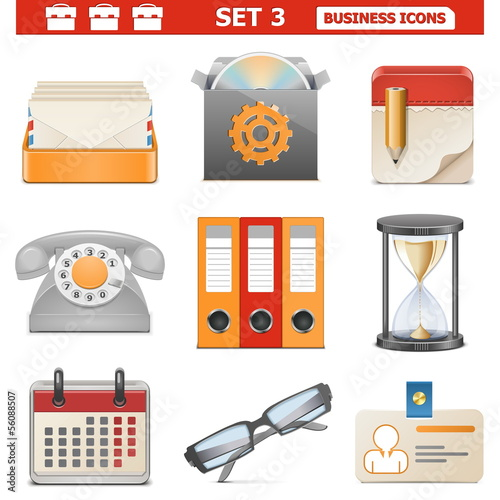 Vector Business Icons Set 3